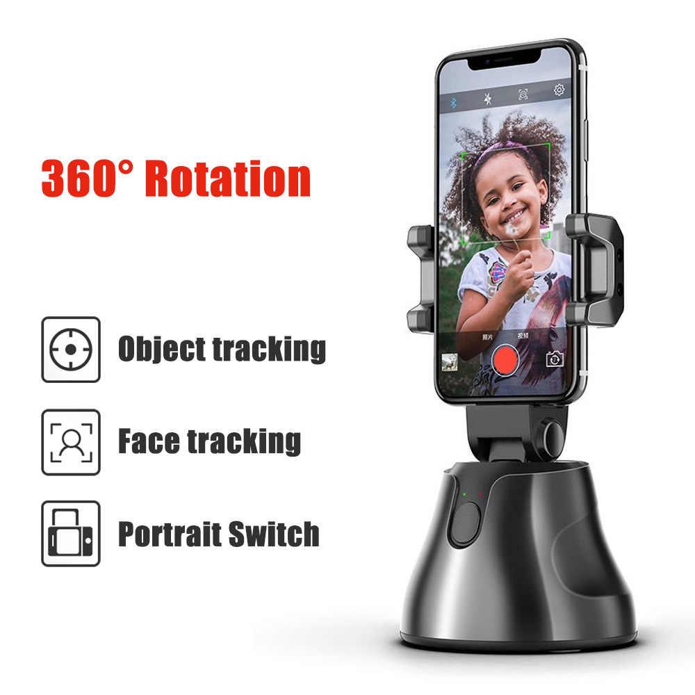 soporte tel/éfono m/óvil para iPhone y Android estabilizador cardano para grabaci/ón autom/ática KKUYI Estabilizador de card/án giratorio 360/°para selfies con funci/ón de seguimiento autom/ática de la cara