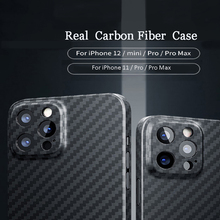 100% Real Carbon Fiber Case For IPhone 12 mini 11 Pro Max Matte Black Phone Cover Compatible MagSafe Magnetic Charger