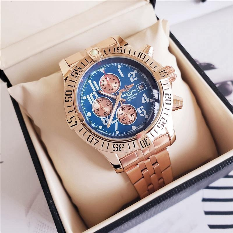 2020 Luxury role Fashion Mens Watches Quartz Steel Rolexable Top tag Brand Green Wrist Breitling Watch For Man relogio women x