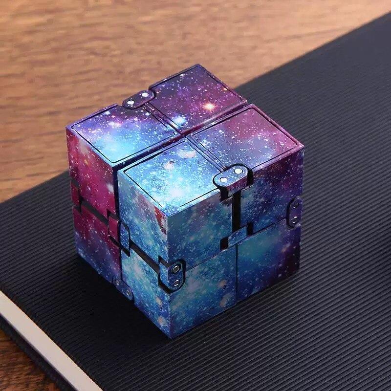Мини-игрушка Infinity Cube для повседневного ношения, тревога, снятия стресса, кубики детская забавная игрушка, лучший подарок, игрушки для детей