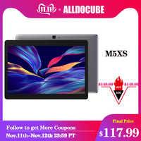 ALLDOCUBE M5XS 10.1 cal 4G LTE tablet z androidem MTKX27 10 rdzeń telefon dzwoni tablety pc 1920*1200 FHD IPS 3GB RAM 32GB ROM GPS