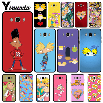 Yinuoda Hey Arnold New Personalized Print Phone Accessories Case For Samsung J6 2018 J7 2018 J4 puls J6 puls J730 J8 image