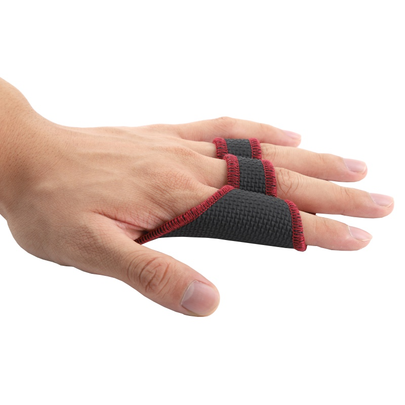 Unisex Anti Skid Gewicht Lifting Handschuhe Fitness <font><b>Sport</b></font> Hantel Grip Pad Gym Workout Übung Hand Palm Finger Protector image