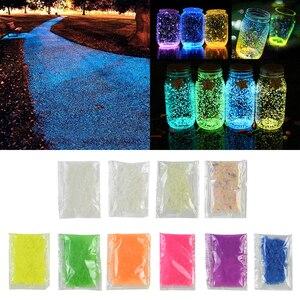 10/30g Luminous Sand Stone Fluorescent Gravel Glow In Dark Patio Garden Decoration DIY Starry Wishing Bottle Fish Tank Ornaments