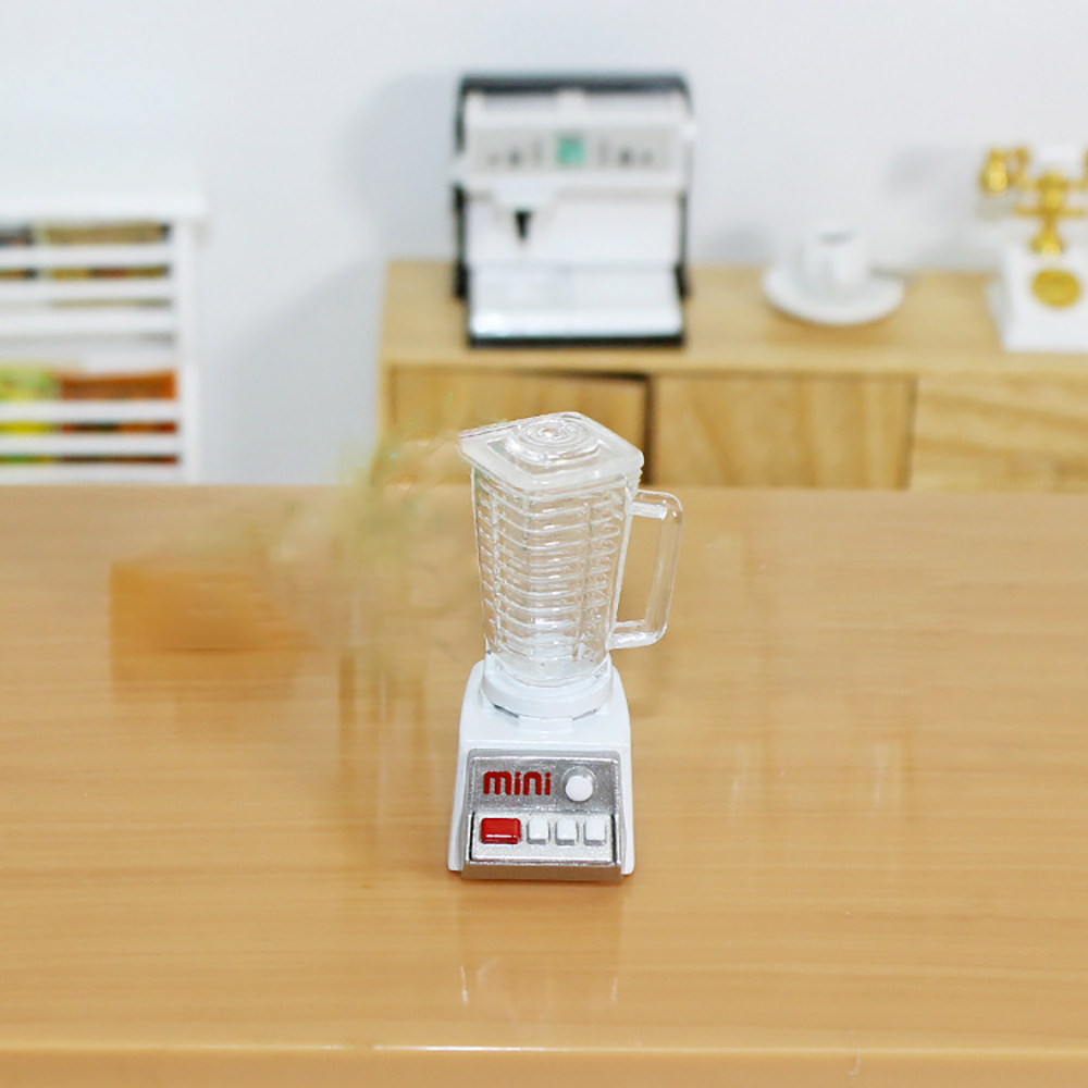 1Pcs 1/12 Dollhouse Miniature Accessories Mini Juicer Simulation Drinks Drinks Model Toys Doll House Decoration