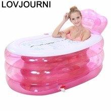Inflable Bad Volwassenen Portable Opblaasbaar Kids Pool Baby Pedicure Spa Hot Adult Bath Tub Inflatable Bathtub