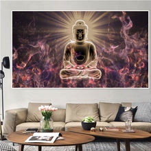 Modern god buddha wall art canvas prints paintings on the pictures