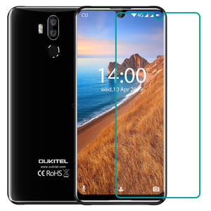 For Oukitel C15 Pro (Pro+) C17 C16 K12 Y4800 K5 K10 U18 U23 Tempered Glass Protective 9H Screen Protector Glass Film Cover(China)