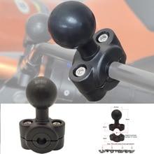 JINSERTA Rail Mount w/ 1 Inch Ball Car Headrest Motorcycle Scooter Rearview Mirror Stem Bar Mount for Garmin Gopro for Ram