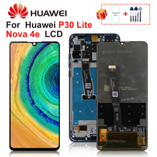 Huawei社P30 lite lcdディスプレイノヴァ4eタッチスクリーンデジタイザMAR LX1 LX2 AL01交換部品