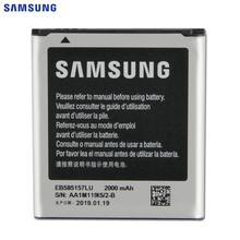 цена на Original Replacement Battery EB585157LU For Samsung GALAXY Beam i8530 i8550 i8558 i8552 i869 i437 G3589 Win J2 SM-G130HN 2000mAh