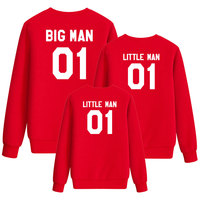 big brother daddy and me mother family look clothes son tshirt matching outfits black sweatshirt mom baby boy summer dad kids