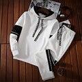 2021 спортивный костюм для мужчин комплекты на осень и весну толстовка с капюшоном комплект спортивной мужской костюм из пуловера с капюшоно...