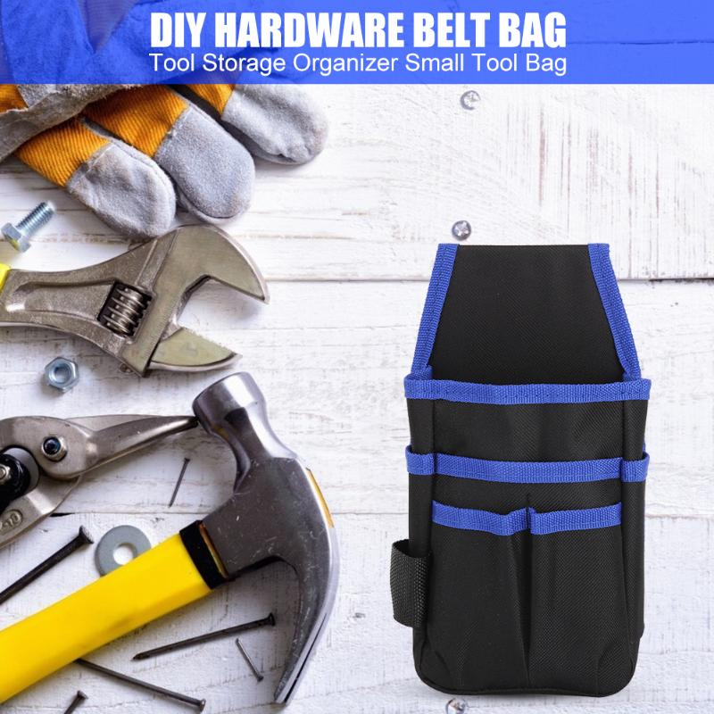Polyester Toolkit Screwdriver Drill Hardware Parts Storage Tool Bag Multi-function Waist Pack Tools Packaging Supplies