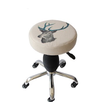 European-style Spa Washable Pulley Bench Beauty Salon Stool Barber Stool Rotary Chair Large Work Stool Nail Salon