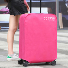 1 Pcs Protective Travel Luggage Suitcase Dustproof Cover Protector Case XKW