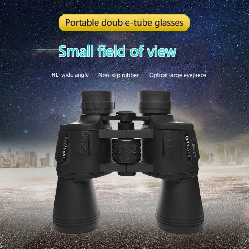 Jumelles de Vision nocturne de télescope extérieur tenu dans la main binoculaire de télescope de chasse de 20x50 avec la puissance élevée