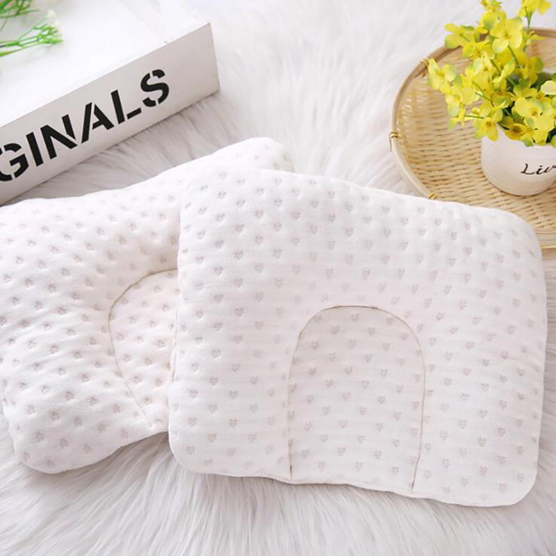 Newborn Infant Baby Pillow Newborn Infant Comfortable Cushion Prevent Flat Head