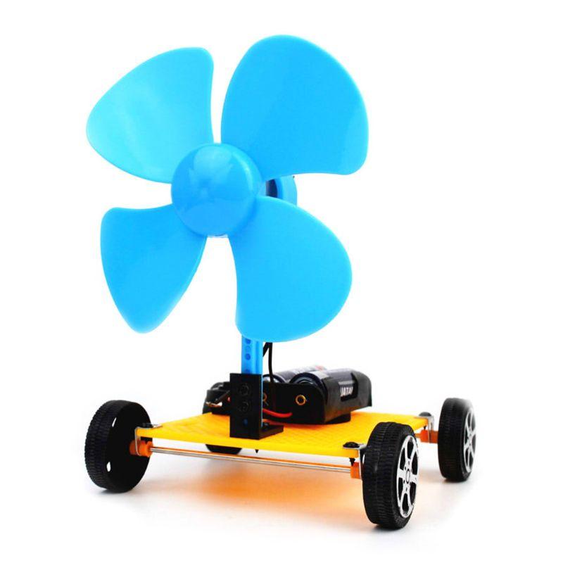 Assembling DIY Small Fan Production Scientific Experiment Maker Education Kit Q6PD