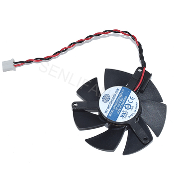 NEW  for X1300 HD4650 HD3650 Video Card Graphic card fan  DF0501012SEE2C01 DC12V 0.05A 3.9*3.9CM Two Wires Cooling Fan