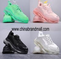 Triple S Sneakers Men Women White Shoes Male Fashion Triples Shoes Outdoor Trainers Zapatillas Mujer Runner Chunky Sneakers