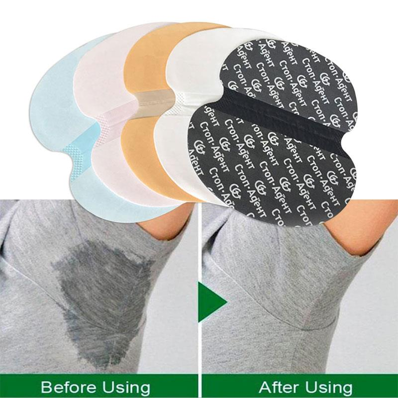 Disposable 1pc Deodorants Underarm Deodorant Pad Sweat Pads 5 Colors Antiperspirants Underarm Armpit Your Post
