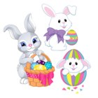 Easter Bunny Eggs Me...