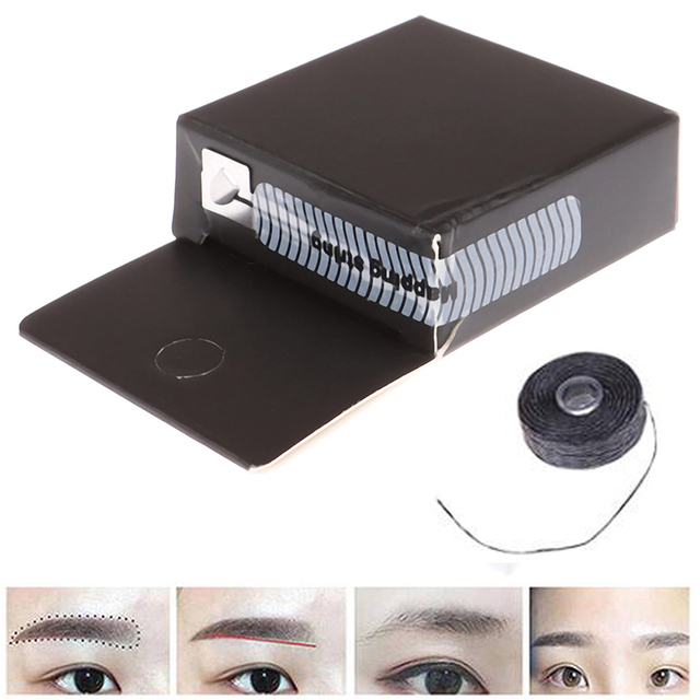 2m Mapping Pre-ink String For Microblading Eyebow Make Up Dyeing Liners Thread Semi Permanent Positioning Eyebrow Measuring Tool 4