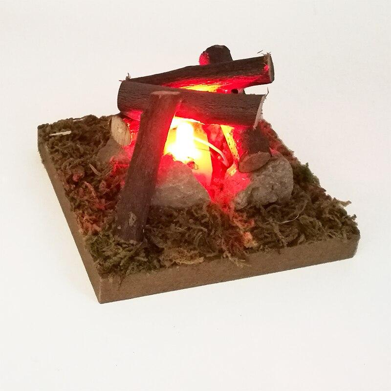Dollhouse Miniature Model Scene Bonfire OG013