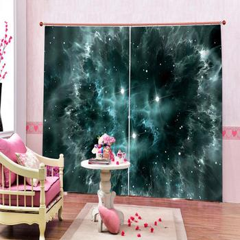 Customize Window Cortains For Bedroom world map Curtains For Living Room Blackout 3d Curtains Classic Home Decor