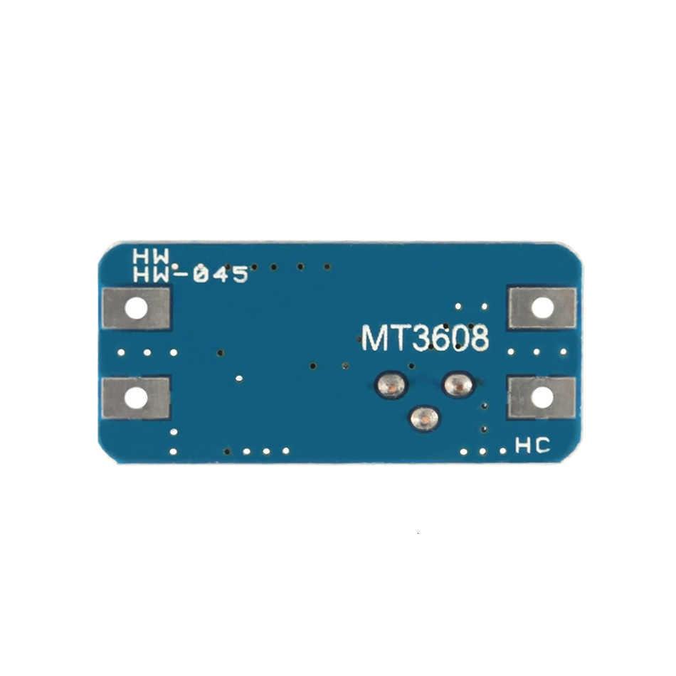 DC-DC MT3608 DC adım yukarı voltaj regülatör modülü yem dönüştürücü 2 V-24 V için 5-28 V 2A max