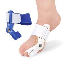 2 pçs blied splint toe straightener corrector alívio da dor do pé correção hallux valgus ortopédica suprimentos pedicure cuidados com os pés