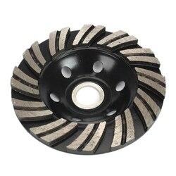4 cal 100mm segment diamentowy szlifowanie puchar szlifierka koła betonu granit Cut w Młynki od Narzędzia na