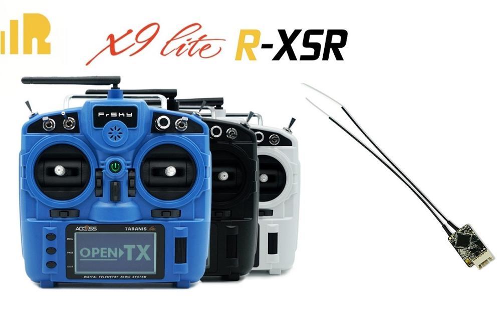 R-XSR FrSky/RXSR Ultra mini S. BUS récepteur de redondance de Port intelligent/FrSky Taranis X9 Lite 2.4GHz 24CH pour drone rc