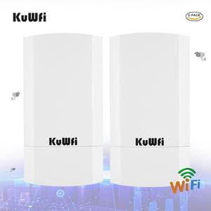 Image 1 - 2 pezzi 5Ghz 900Mbps 1KM p2p Wireless Outdoor CPE Ponte Router Supporta La Funzione WDS Nessuna impostazione con display A LED