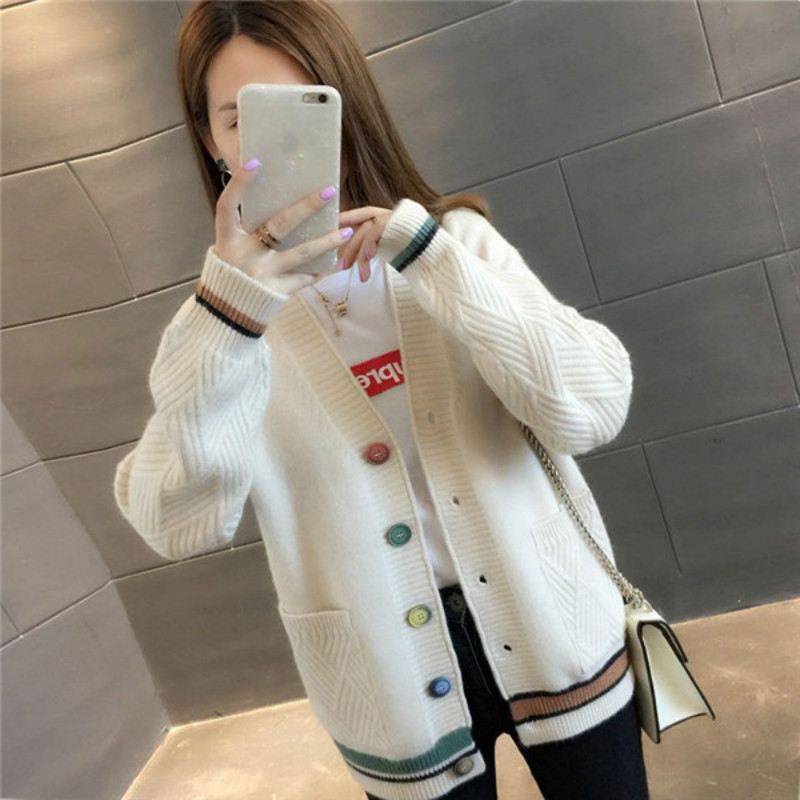 Cheap Wholesale 2019 New Autumn Winter Hot Selling Women's Fashion Casual Warm Nice Sweater MP310