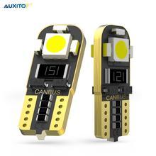 2X T10 W5W bombilla Led Luz de aparcamiento de coche de lámpara de Interior para Mercedes Benz AMG DE LA CIA W212 W202 W205 W220 W213 W176 ML CLK