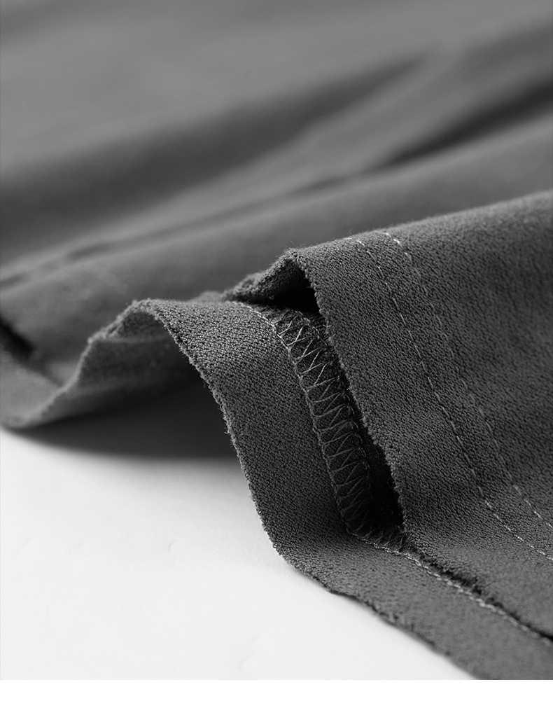 Kuegou 2019 Musim Gugur Katun Cetak Putih Polos T Shirt Pria Tshirt Merek T-shirt Kaos Lengan Panjang Fashion Pakaian Baru terbaik 0325