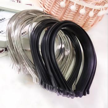 3-7mm koreański styl pasma włosów złoty srebrny ze stali nierdzewnej ze stali nierdzewnej pałąk dla majsterkowiczów panna młoda nakrycia głowy pasma włosów akcesoria do wyrobu biżuterii tanie i dobre opinie CN (pochodzenie) Hair band Metal STAINLESS STEEL