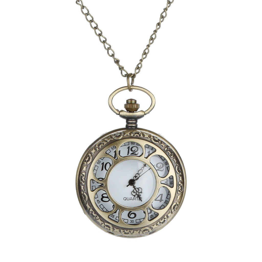 Pocket Watch Personalized Pattern Steampunk Vintage Quartz Roman Numerals карманные часы Orologi Da Taschino Zegarek Kieszonkowy