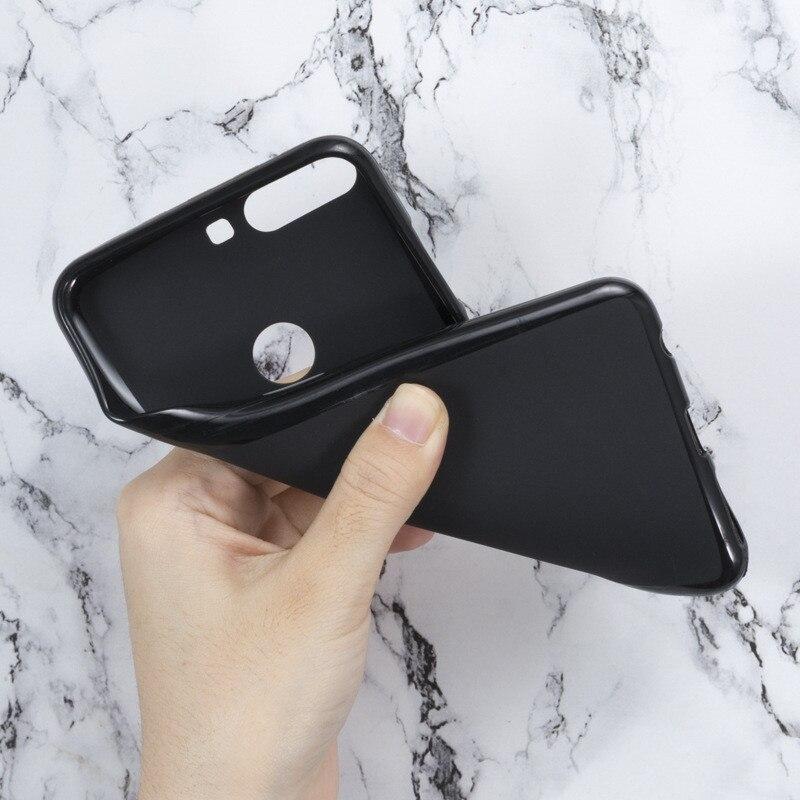 Luxury Phone Cases Coque for ZTE Nubia Z17 Z11 V8 Axon 7 V7 Max Z9 M2 N2 Mini S N1 Lite Black Soft Silicone Case Cover(China)