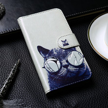 Luxury Flip Leather Case For Doogee Y8 Y6 X9 X70 X60L X5 M10 HT7 Wallet Painted PU Cover F5 Etui