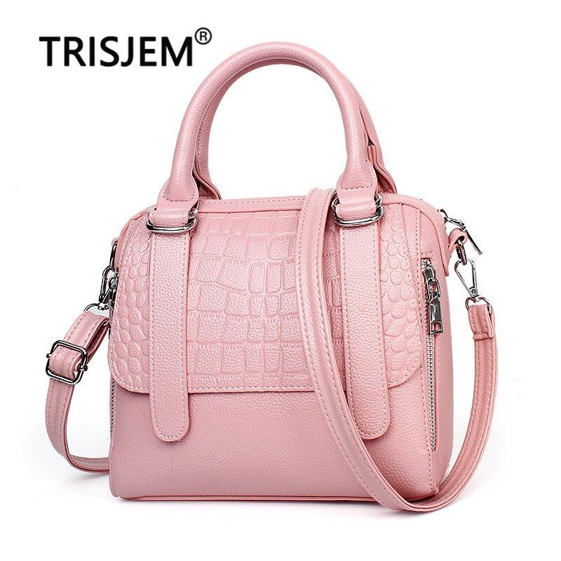 Marque de luxe sacs à main femmes sacs en cuir de créateur sacs à main Crocodile sacs à bandoulière sac a main femme de marque luxe cuir 2019