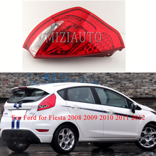 MIZIAUTO Rear Tail light For Ford for Fiesta 2008 2009 2010 2011 2012 Warning Light Brake Light Rear Bumper Light Fog lamp стоимость