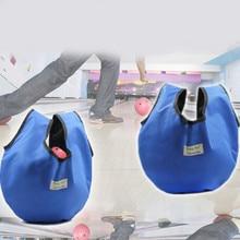 Golf Bowling Shoes Bag Zipper Design Outdoor Travel Camping Carry Storage Case Box Dustproof Waterproof Blue 55*24cm