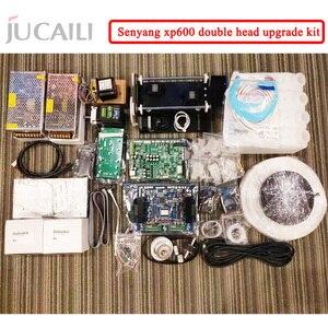Image 2 - Dx5/dx7 용 Jucaili 대형 프린터 xp600 업그레이드 키트는 에코 솔벤트 프린터 용 xp600 이중 헤드 완전 변환 키트로 변환