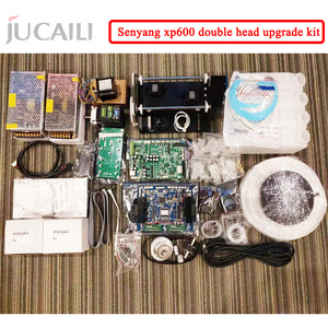 Image 2 - Jucaili large printer xp600 upgrade kit for dx5/dx7 convert to xp600 double head complete conversion kit for eco solvent printer