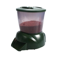 Automatic Pond Fish Feeder Fish Food Dispenser Aquarium Timer Feeder Large Capacity Pond Food Dispenser