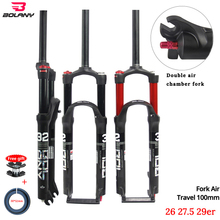 Fork-26/27.5/29er-inch Bicycle-Accessories 100mm Fork Mtb-Supension Bolany Aluminum-Alloy