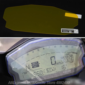 For Ducati Panigale 899 / 959 / 1199 / 1299 moto Accessories Cluster Scratch Protection Film Dashboard Screen Protector